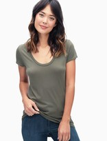 Splendid Jersey Scoop Tee