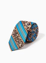 Topman Leopard Chain Tie