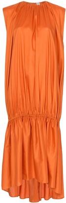 Totême Pretoria sleeveless gathered dress