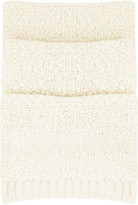 See by Chloé Oversized knitted scarf