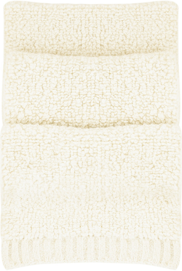 See by Chloe Oversized knitted scarf