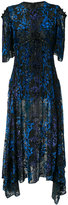 Prabal Gurung asymmetric hem dress - women - Silk/Polyamide/Viscose - 4