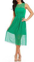 Antonio Melani Rafaela Linear Lace Dress