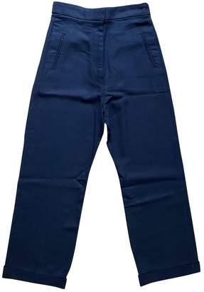 Jacquemus La Riviera Black Cloth Trousers for Women