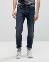 Lee Powell Low Slim Fit Jeans In Wave Signal