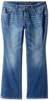 Jag Jeans Women's Petite-Plus-Size Foster Bootcut Jean