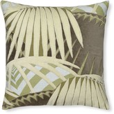 Rousseau Velvet Applique Pillow Cover, Natural