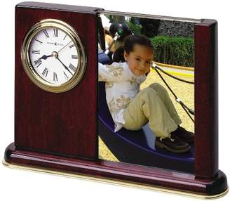 Howard Miller Portrait Caddy Table Clock 645-498 - Picture Frame with Quartz Movement