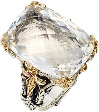 Konstantino Pythia Crystal Cocktail Ring