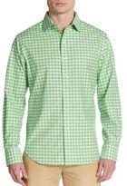 Robert Graham Regular-Fit Gingham Cotton Sportshirt