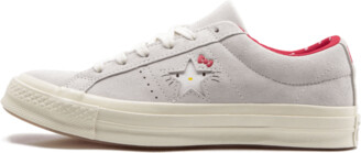 Converse One Star Ox 'Hello Kitty - Grey' Shoes - Size 4.5W