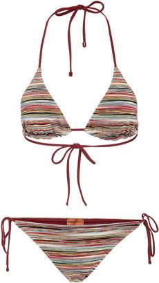 Missoni Mare Striped Classic Lurex Bikini