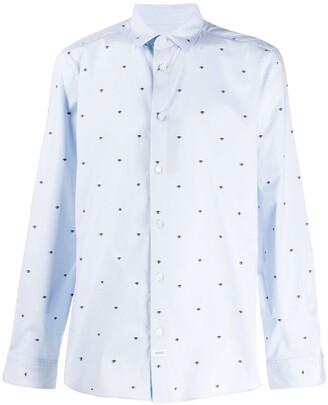 Kenzo Eye Pattern Shirt