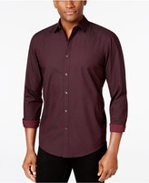 Alfani Men's Grid Long-Sleeve Shirt, Classic Fit