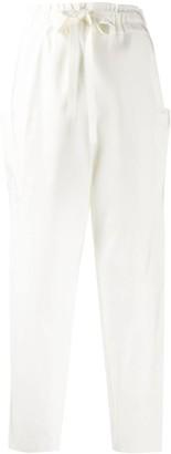 Maison Rabih Kayrouz Side-Pocket Tapered Trousers