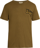 Burberry Adson logo-appliqué crew-neck T-shirt