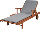 International Home Miami Amazonia Eucalyptus Wood Lounger