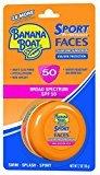 Banana Boat Sunscreen Sport Performance Faces Broad Spectrum Zinc Sun Care Sunscreen - SPF 50, 2 Ounce
