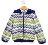 Missoni Girls' Chevron Puffer Coat