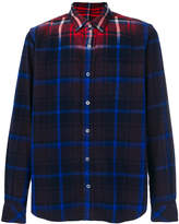 Sacai gradient checked shirt