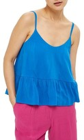 Topshop Women's Peplum Camisole