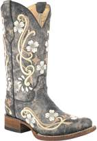 Corral Women's Cowhide Cowgirl Boot Square Toe