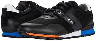 HUGO BOSS Parkour Run Sneakers by BOSS (Black) Men's Shoes