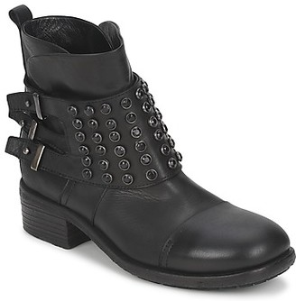 Strategia DOULI women's Mid Boots in Black