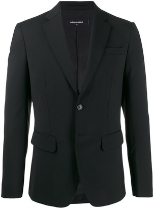 DSQUARED2 embroidered printed blazer