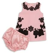Dolce & Gabbana Baby's Two-Piece Abito Dress & Bloomers Set