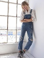 Quincey Denim Overalls by Citizens of Humanity x Free People