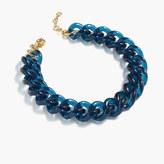 J.Crew Lucite link necklace