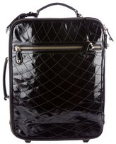 Bally Patent Leather Rolling Carry-On