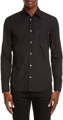 Maison Margiela Faux Pocket Button-Up Shirt
