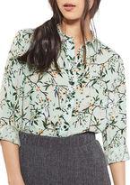 Topshop PETITE Floral Shirt
