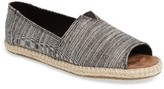Toms Women's Open Toe Espadrille Slip-On