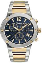 Salvatore Ferragamo F-80 Two-Tone Chronograph, 44mm