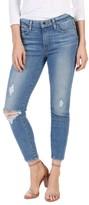 Paige Women's Transcend Vintage - Hoxton High Waist Crop Jeans