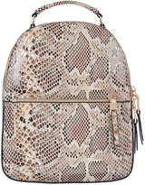 Accessorize Tommie Midi Snake Dome Backpack