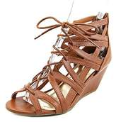 Material Girl Womens Hera Open Toe Casual Platform Sandals.