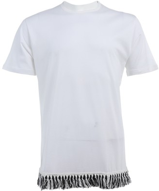 J.W.Anderson White Cotton T-shirts