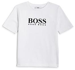 HUGO BOSS Boys' Essential Logo Tee - Little Kid, Big Kid