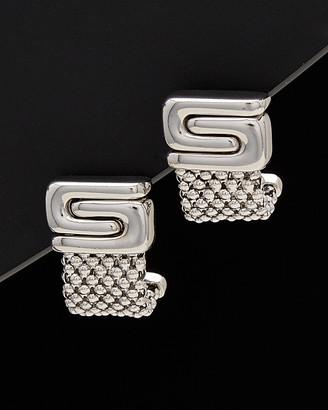 Yin & Yang Meshmerise 14K Italian Gold Yin Yang Earrings