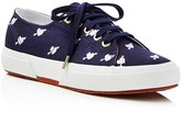 Superga Jennifer Meyer Collection Linembrw Hearts Lace Up Sneakers