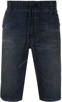 Diesel Knee-Lengh Denim Short
