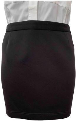 Barbara Bui Black Cotton - elasthane Skirt for Women