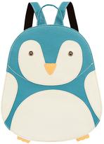 Mellow World Blue Penguin Backpack - Girls