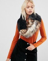 Urban Code Urbancode Faux Fur Wide Shoulder Slouch Infinity scarf
