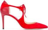 Jimmy Choo Vanessa 85 pumps - women - Leather/Suede - 38