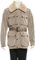Belstaff Westerly Shearling Collar Jacket w/ Tags